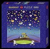 HEYE 29800 - Firmament Square Puzzle, Guillermo Mordillo, 1000 Teile
