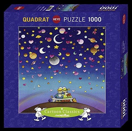 QPz1000 Mordillo Firmament - puzzle a quadrato-29800