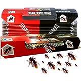 10Pcs Cockroach Repellent Pitfall House Killer Glue Bait Trap Sticker