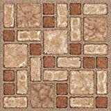 60x mattonelle di pavimento in vinile–Adesivo–Cucina/Bagno Adesivi–Nuovo–Marrone Mosaico 188