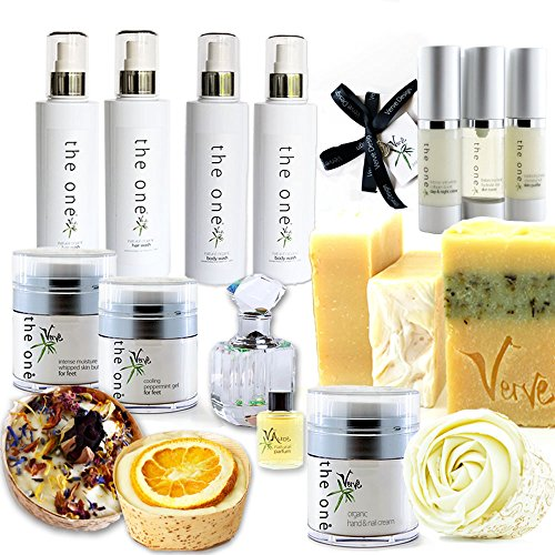 Luxe Naturel Skin-hair-body-soap-perfume Ensemble cadeau
