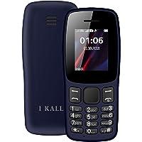 I KALL K14 Multimedia Keypad Mobile (Dark Blue, 1.8 Inch, Dual Sim)