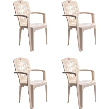 Cello Comrade Set of 4 Chairs (Beige)