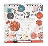 Organised Mum 2017 Family Weekly Planner Wochenkalender mit Spalten für