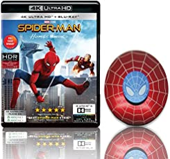 Spider-man: Homecoming (4K UHD & HD) + Official Merchandise