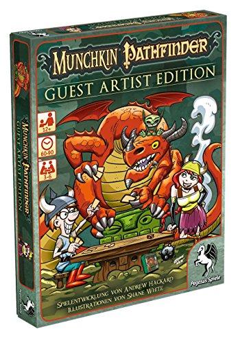Pegasus Spiele 17243G - Munchkin Pathfinder Guest Artist Edition, Shane White-Version (Goblins Spiel)