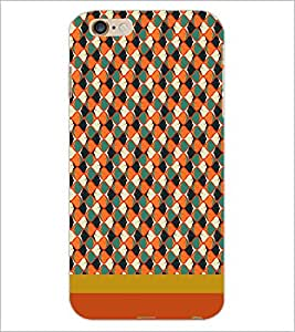 PrintDhaba Pattern D-1842 Back Case Cover for APPLE IPHONE 6S (Multi-Coloured)