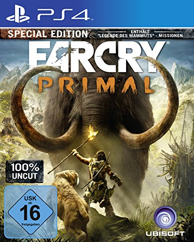 Far Cry Primal (100% Uncut) - Special Edition - [PlayStation 4] (Playstation 4 Gta 5 Edition)