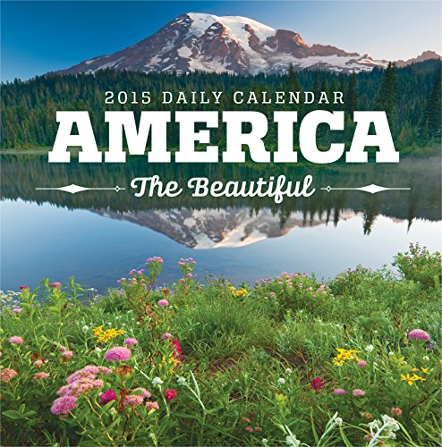 Avalanche January to December, 5.25 x 5.25 Inches, Perfect Timing America the Beautiful 2015 Daily Boxed Calendar (7003104) by Avalanche 2015 Boxed Daily Calendar