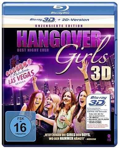 Hangover Girls - Best Night ever (Uncut Edition) [3D Blu-ray + 2D Version] (Beste 3d Blue Ray Filme)