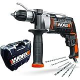 Worx WX318 Klopboormachine, 810 W, Zwart/Oranje