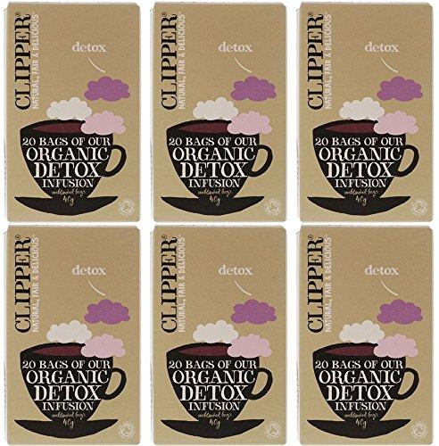 (6er BUNDLE)  Clipper - Organic Detox Tea -20bag
