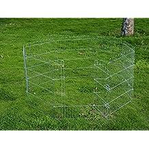 Parque para Cachorros Valla para Cachorros Animales Rejilla Medidas 63 x 60 CM
