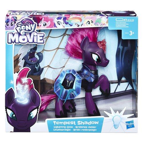 Hasbro My Little Pony E2514EU4 Toys Movie Leuchtmagie Tempest Shadow, Puppe