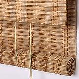Seitenzug- & Springrollos Bambusvorhang Rollladen Jalousie Bambusvorhang Jalousien Bildschirm Partition Tür Vorhang Mit Kordelzug Kann (größe : 80x190cm)