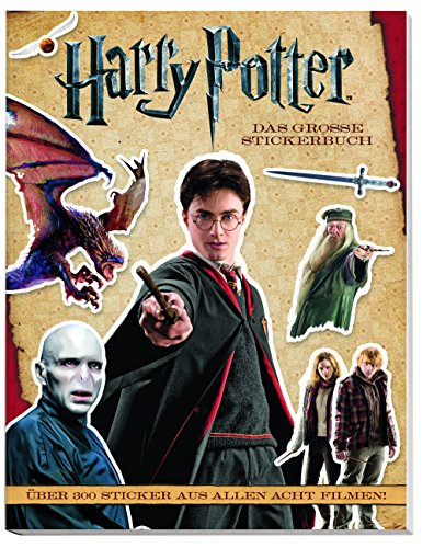 Harry-potter-buch Sechs (Harry Potter Stickerbuch: Über 300 Sticker aus allen 8 Filmen!)