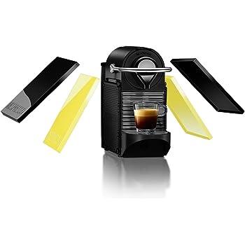 Nespresso Pixie Clips XN3020 macchina per caffè espresso di Krups, colore Black and Lemon Neon