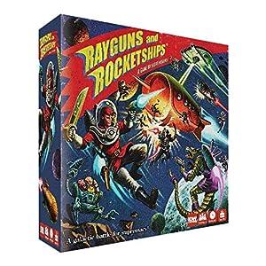 IDW Games IDW01080 Rayguns and Rocketships - Juego de Mesa (Contenido en alemán)