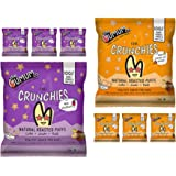 The Mumum Co. Cool Crunchies Combo | Natural Multigrain Roasted Puffs | Healthy Snacks Food for Kids | 4 Beetroot & 4…