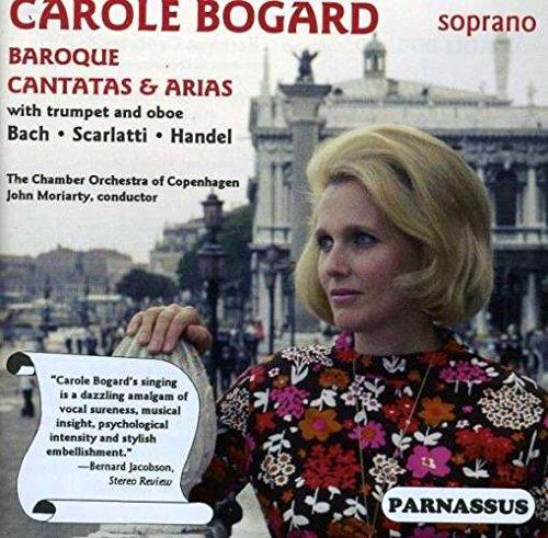 Baroque cantatas Bach, Handel, Scarlatti