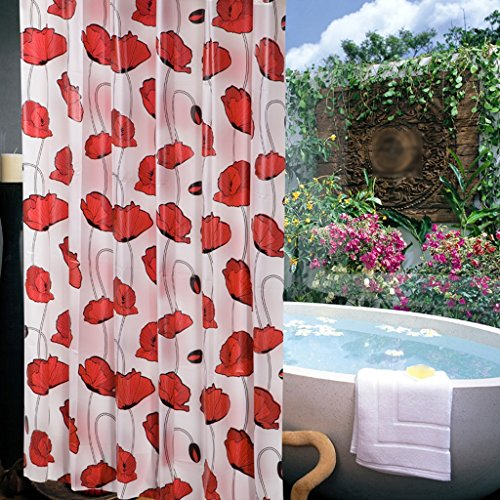 Rideaux de douche Rideau de douche de mode PEVA protection de l'environnement salle de bains imperméable sécurité confortable Durable ( taille : 180X200CM )