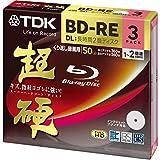TDK Blu-ray Disc 3 Pack - 50GB 2X BD-RE DL