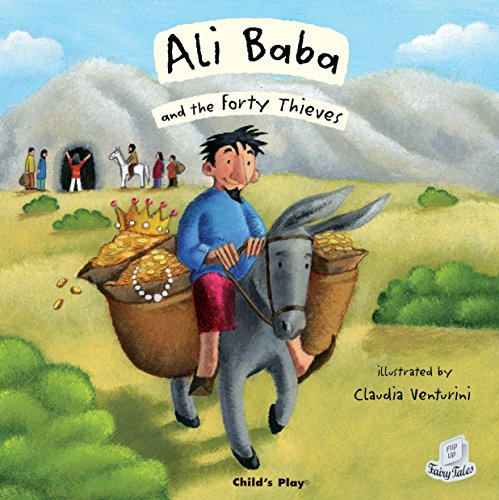 Ali Baba and the Forty Thieves (Flip-Up Fairy Tales)