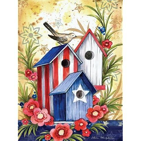 Birdhouse Trio Garden