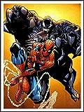 imagenation The Amazing Spiderman 'Spiderman Versus Venom'?60cm x 80cm impresión en láminas autoadhesivas papel Póster
