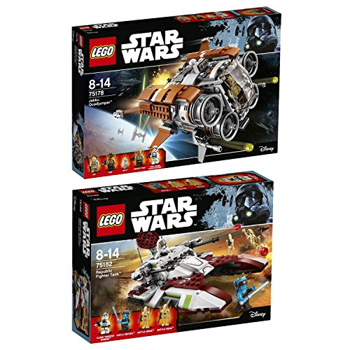 Lego Star Wars 2er Set 75178 75182 Jakku Quadjumper + Republic Fighter - Quadjumper Lego