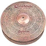 "Turkish Cymbals Zephyros Cymbale Hi-Hat 15"" (Jazz)"