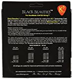 DR K3 Black Beauties Coated Bass 50-110 Heavy Taper BKBT-50