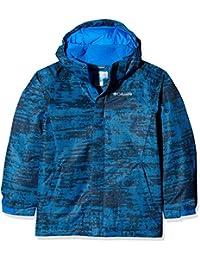 Columbia Chaqueta impermeable para niño, Twist Tip Jacket, Nailon, Azul (Super Blue