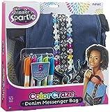 Shimmer and Sparkle 17538 Denim Messenger Bag