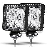 Racbox 27W 4d mise à niveau LED Lampe de travail Offroad spot Faisceau Conduite lampe Truck SUV UTE 4WD Bateau 12V 24V