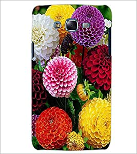PrintDhaba Flowers D-2053 Back Case Cover for SAMSUNG GALAXY ON 7 (Multi-Coloured)