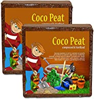 Nalla Coconut Industry Cocopeat Block | Agropeat Block 5 Kgs - Expands Up to 75 litres of Coco Peat Powder for
