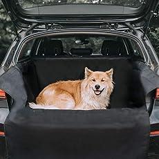 Kharic Kofferaumschutz für Hunde mit Seitenschutz - Universelle Auto Kofferraum Hundedecke Inklusive Ladekantenschutz - Kleinwagen, SUV und Kombi Kofferraumdecke - Wasserdichte Kofferraumschutzdecke