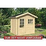 Gartenhaus Meppen 250 x 200 cm Gerätehaus Blockhaus
