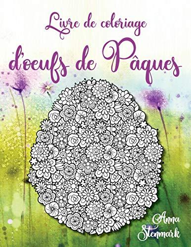 Livre de coloriage d'oeufs de Pâques par  Anna Stenmark