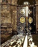 DIY Pintura al óleo Lienzo Pintura by números decoración de la Pared Imagen Pintura al óleo sobre Lienzo para la decoración casera Puerta de la casa con Marco 50x60 cm