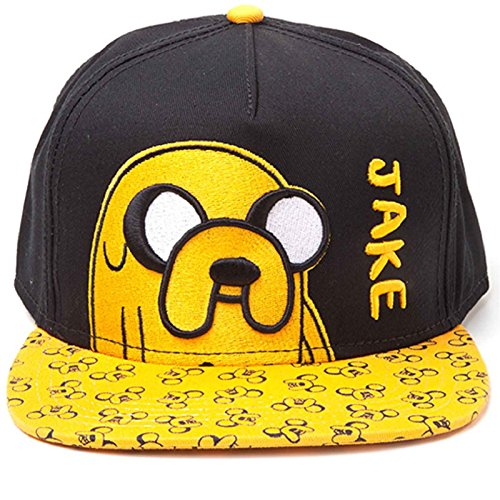 Adventure Time Baseball Cap Jake With Printed Bill Nue offiziell snapback