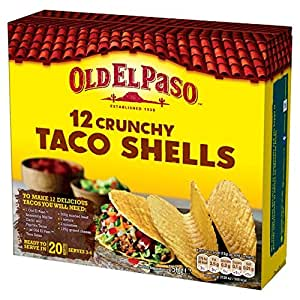 old el paso taco shells 156g cuisine maison. Black Bedroom Furniture Sets. Home Design Ideas