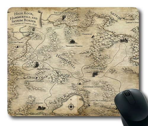 the-elder-scrolls-v-skyrim-mousepad-customized-rectangle-mouse-pad