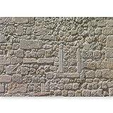 murando - Fototapete selbstklebend 490x280 cm decor Tapeten Wandtapete klebend Klebefolie Dekofolie Tapetenfolie - Steine Textur Steinmauer Mauer Steinwand f-A-0454-a-a