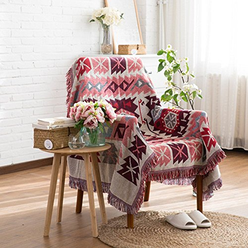 Weicher und dekorativer Sofa-Überwurf von Spring Fever, aus 100% Bio Baumwolle , Farbe G, 35.0