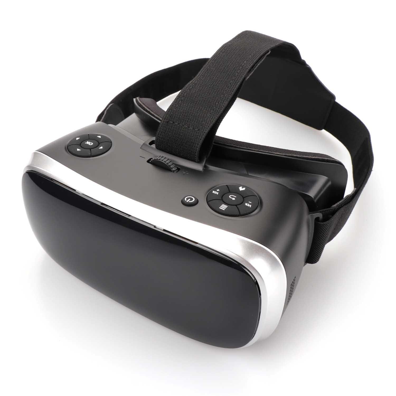 Qkifly Casque De Réalité Virtuelle Tout en Un 3D VR Lunettes Full HD 2K Display 2560 * 1440P sur Android 5.1 Système 360 Degrés Panorama Theater Youtube Jeux avec Entrée WiFi HDMI pour Xbox PS4