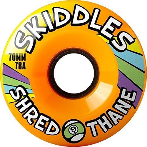 Sector 9skiddles Longboard Wheels-70mm 78A Orange by SECTOR 9