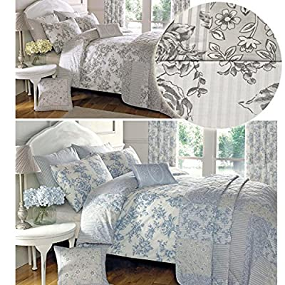Duvet Cover Toile Floral Patchwork Design For Turning - inexpensive UK light shop.
