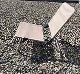 Jan Kurtz Fiam Quick Taupe Strandstuhl fiam Klappstuhl Design Sitzhilfe Aluminium mit UV Textilenebezug